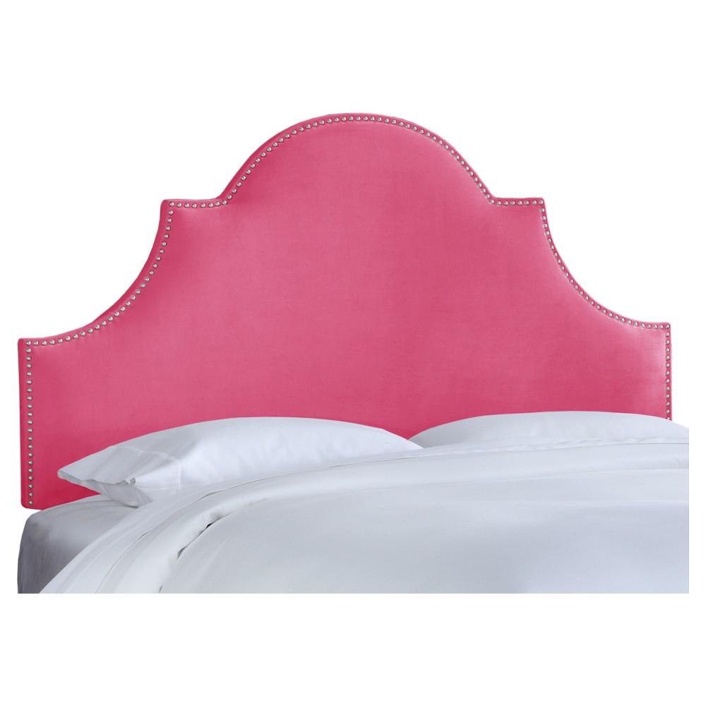Chambers Headboard - Premier Hot Pink (Full) - Skyline Furniture