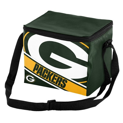d01c52153d59 Forever Collectibles Green Bay Packers Logo Stripe 6pk Cooler   Target