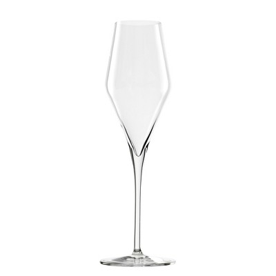 Stolzle Lausitz Feast It Forward Crystal 10.25 Ounce Champagne Flute Glass, Set of 4