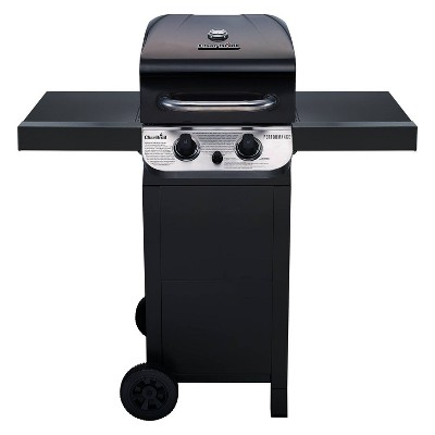 Char-Broil Performance 2-Burner Cart 24,000 BTU Gas Grill 463673019 - Black