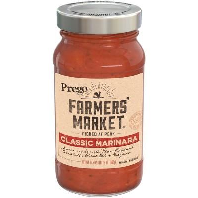 Prego Farmers' Market Classic Marinara Pasta Sauce - 23.5oz