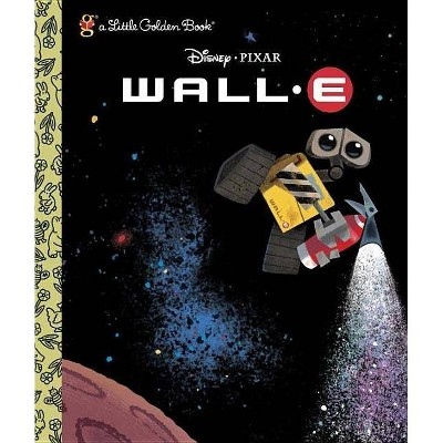 Wall-E (Disney/Pixar Wall-E) - (Little Golden Book Collections) (Hardcover) - by RH DISNEY