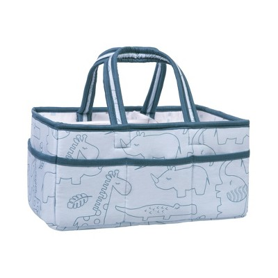 Trend Lab Foldable and Padded Storage Caddy - Simply Safari