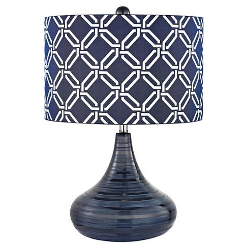 Lazy Susan Navy Blue Table Lamp Target