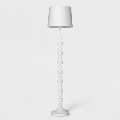 Stacked Ball Floor Lamp Includes Energy Efficient Light Bulb White - Pillowfort™