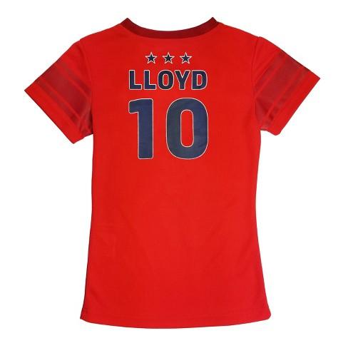Fifa U S Women S Soccer 2019 World Cup Carli Lloyd Girls T Shirt