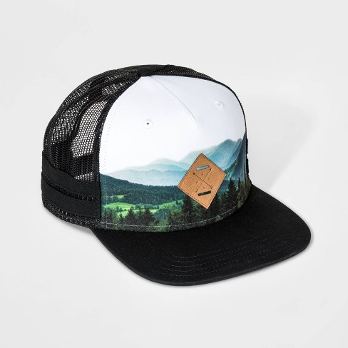 Boys' Scenic Trucker Hat - art class™ Black - image 1 of 3