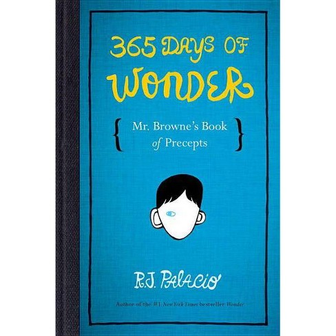 365 Days of Wonder (Hardcover) by R. J. Palacio - image 1 of 1