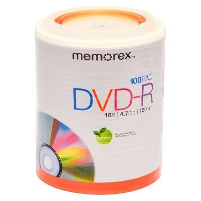 Memorex 100pk DVD-R Tote