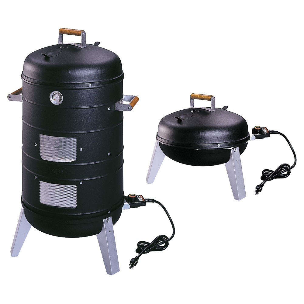 Image of Southern Country 2-in-1 Electric Water Smoker - Converts into a Lock N' Go Grill 5030U4.181, Black