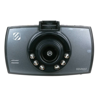 Scosche HD Digital Video Camera Record For Dash Black