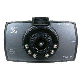 Scosche HD Digital Video Camera Record For Dash Black
