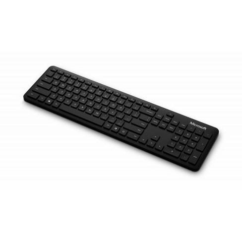 Microsoft Bluetooth Keyboard Black - Wireless Connectivity - Bluetooth - 32.81 ft - 2.40 GHz - English - Windows - image 1 of 4