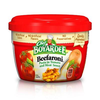 Chef Boyardee Beefaroni Cup - 7.5oz