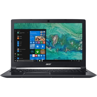 "Acer Aspire 7 -15.6"" Laptop Intel Core i7-8705G 3.1GHz 16GB Ram 512GB SSD Win10H - Manufacturer Refurbished"