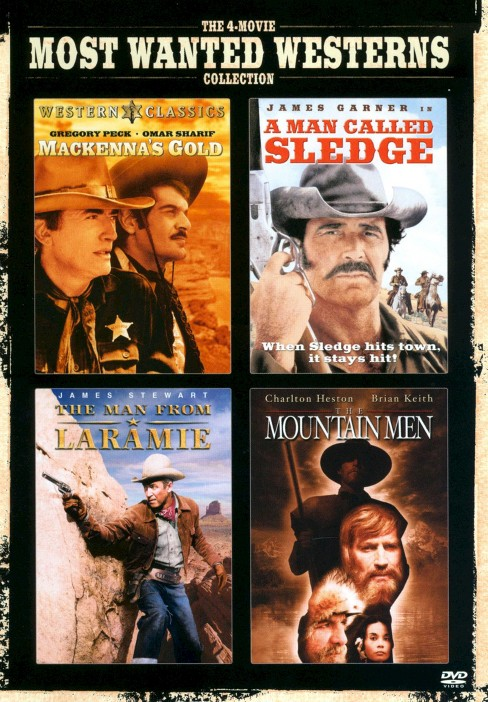 The 4-Movie Most Wanted Westerns Collection [2 Discs] - image 1 of 1