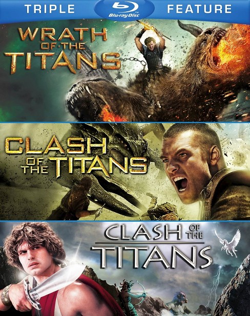 Blu Ray Clash Of The Titans 2010 Clash Of T Blu Ray