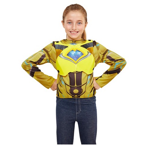 Power Rangers Yellow Deluxe Ranger Dress Up Set with Light Up Chest Armor - image 1 of 7