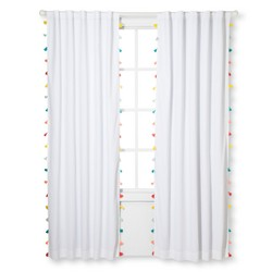 Tassel Blackout Curtain Panel - Pillowfort™