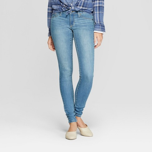 Women's Low-Rise Jeggings - Universal Thread™ Light Wash - image 1 of 3