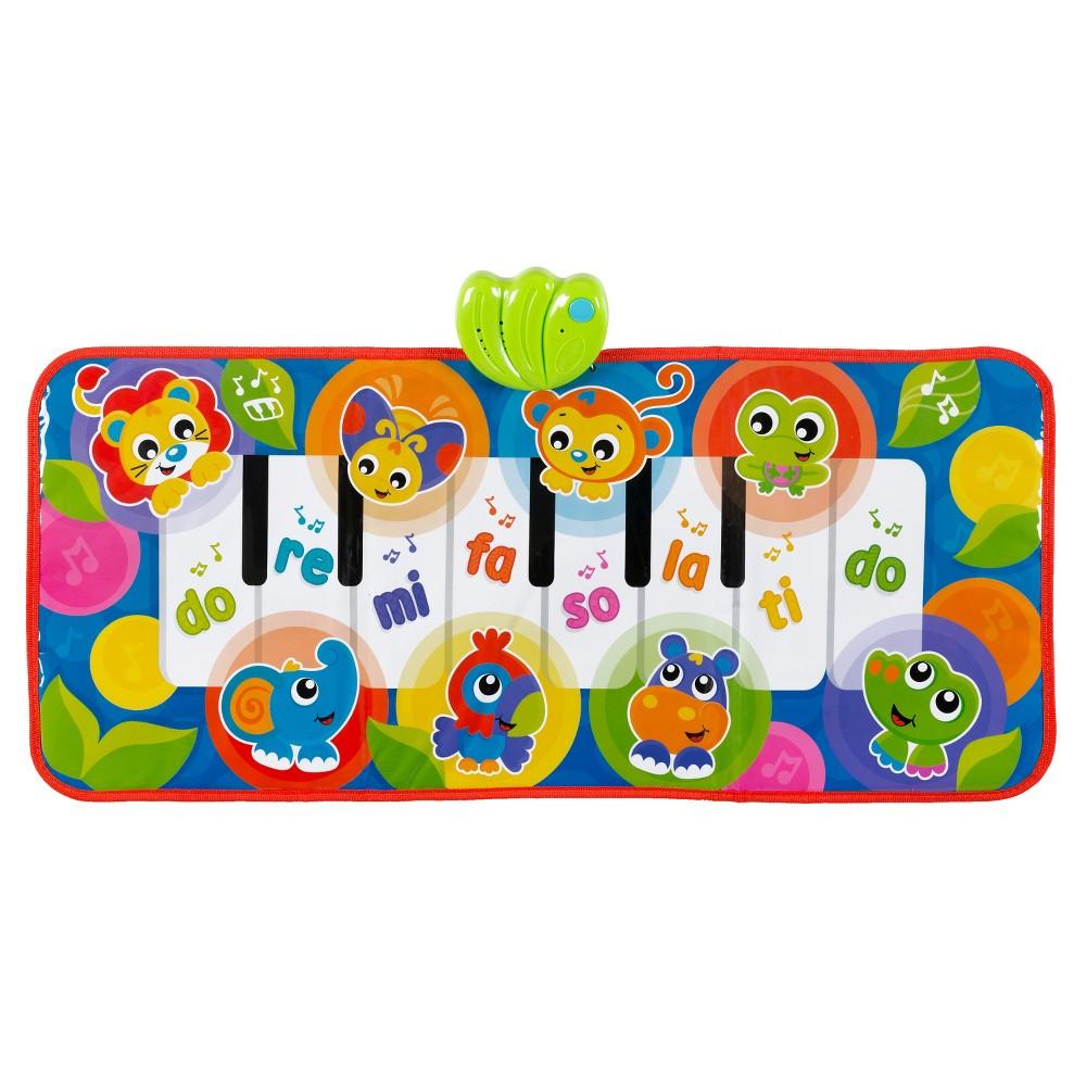 Playgro Jumbo Jungle Musical Piano Mat, Multi-Colored