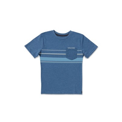 Volcom Toddler Boys Horizontal Liner Short Sleeve Pocket Tee