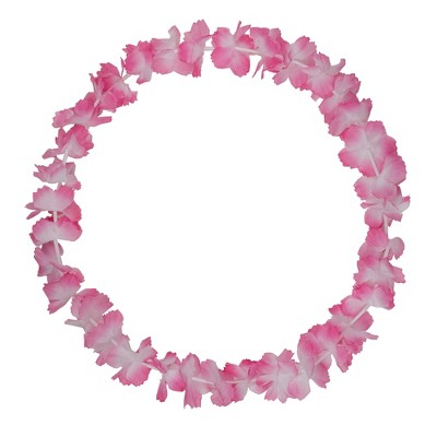 """Northlight 18"""" Pink And White Halloween Lei Costume Accessory"""
