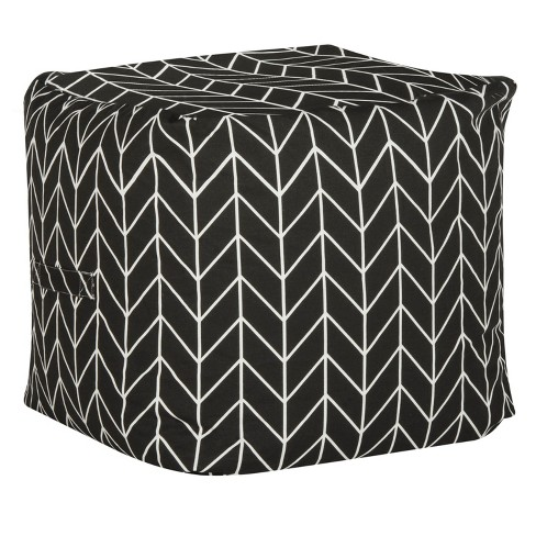 French Leaf Pouf - Safavieh - image 1 of 3