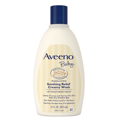 Aveeno Baby Soothing Relief Creamy Wash - 12 oz.