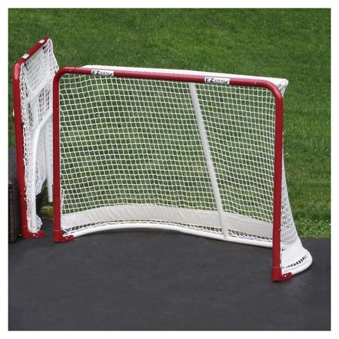 Ez Goal Folding Metal Hockey Goal 6 X4 Target