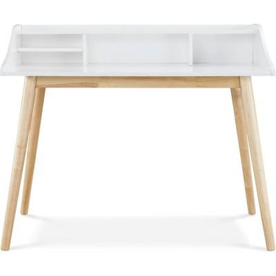 Alton Writing Desk White - Adore Decor