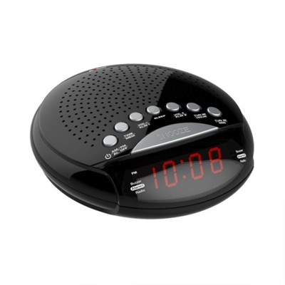 Axess Dual AM/FM Alarm Clock Radio