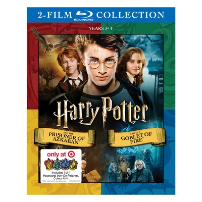 Harry Potter and the Prisoner of Azkaban/Goblet of Fire DBFE (Hogwarts Patch)(Blu-Ray)