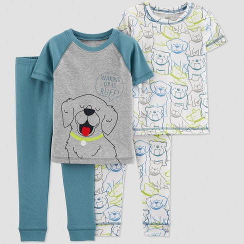26e88abf38b1 Toddler Boys  4pc Blue Dogs Pajama Set - Just One...   Target