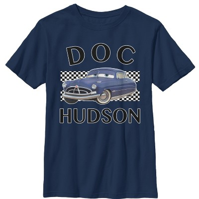 Boy's Cars Doc Hudson Portrait T-Shirt