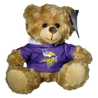 """NFL Minnesota Vikings 9"""" Hoodie Bear"""