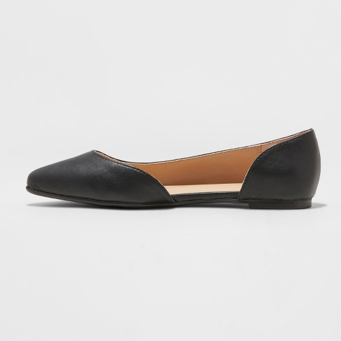ba6022a53dc6 Women s Mohana D orsay Pointed Toe Ballet Flats - A New Day™   Target