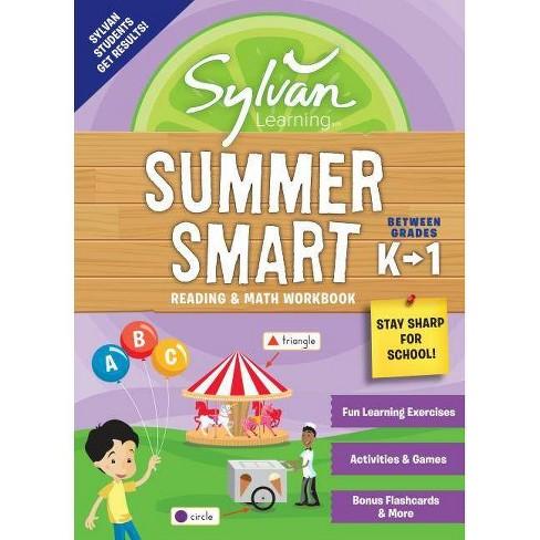 Sylvan Summer Smart Workbook: Between Grades K & 1 - (Sylvan Summer Smart Workbooks) (Paperback) - image 1 of 1