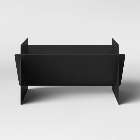 Flat Pack Wood Burning Outdoor Fire Pit - Black - Project 62™ - image 1 of 2