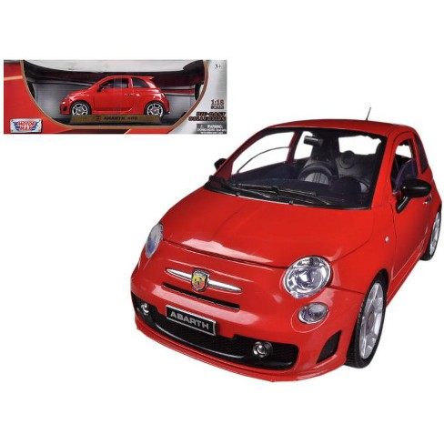 Fiat 500 Abarth Red 1 18 Diecast Car Model By Motormax Target