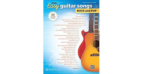 Alfred's Easy Guitar Songs Rock and Pop : 50 Hits from Across the Decades: Easy Hits Guitar Tab Edition - image 1 of 1