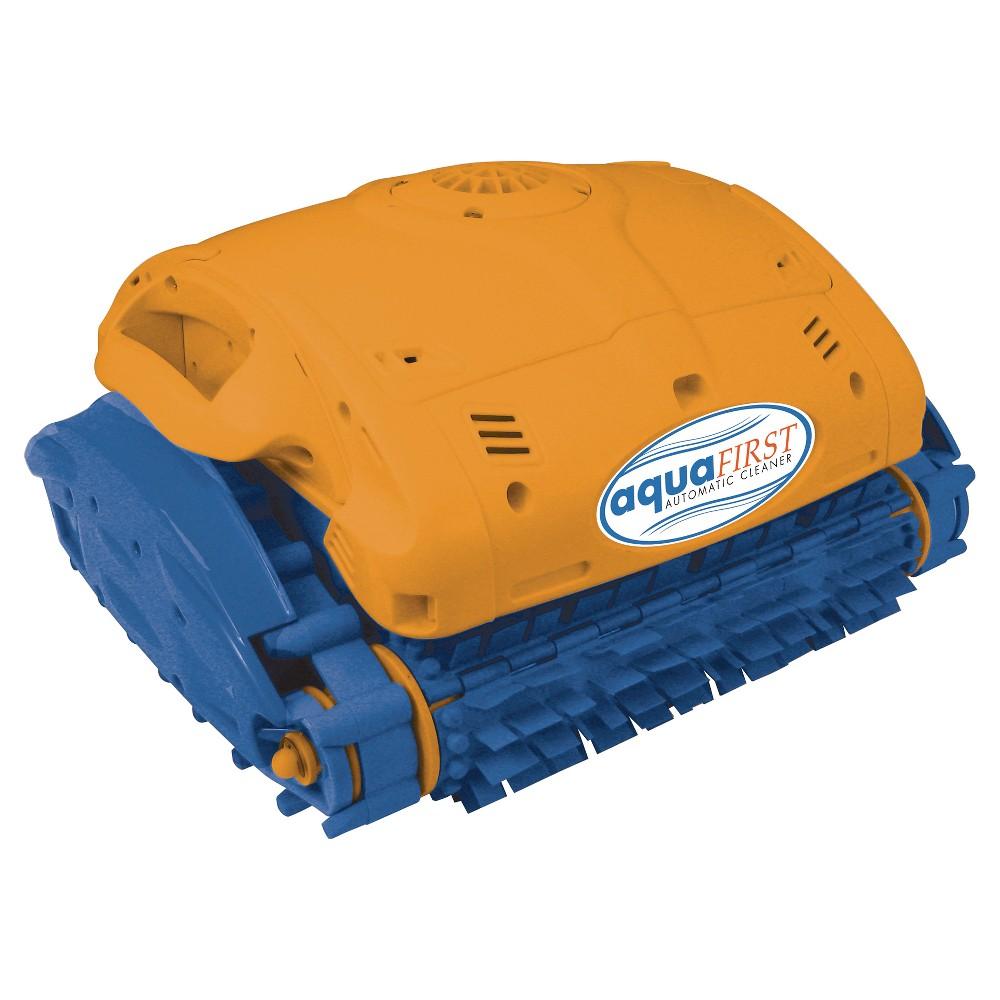 Aquafirst Robotic Cleaner for In Ground Pools, Orange