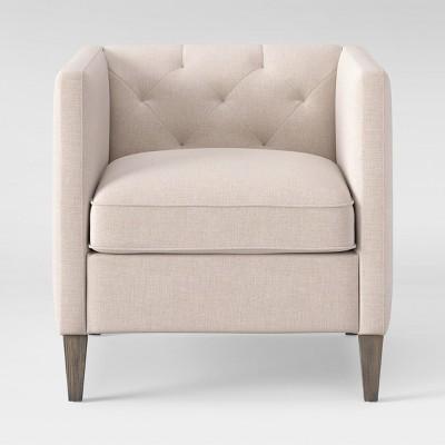 Holyoke Arm Chair Linen - Threshold™