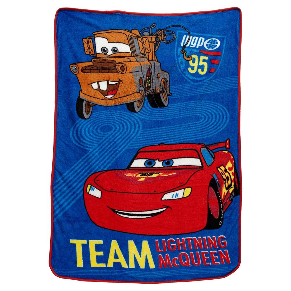 Image of Cars Blue Blanket (Toddler)