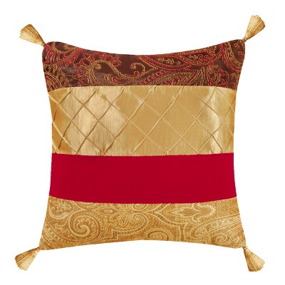 """C&F Home 18"""" x 18"""" Neo Classic Christmas Pieced Pillow"""
