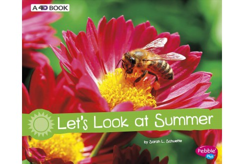 Let's Look at Summer : A 4D Book -  Revised (Pebble Plus) by Sarah L. Schuette (Paperback) - image 1 of 1