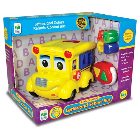 The Learning Journey Remote Control Shape Sorter, Letterland School Bus - image 1 of 2