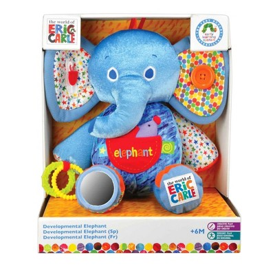 Eric Carle Large Activity Plush - Elephant