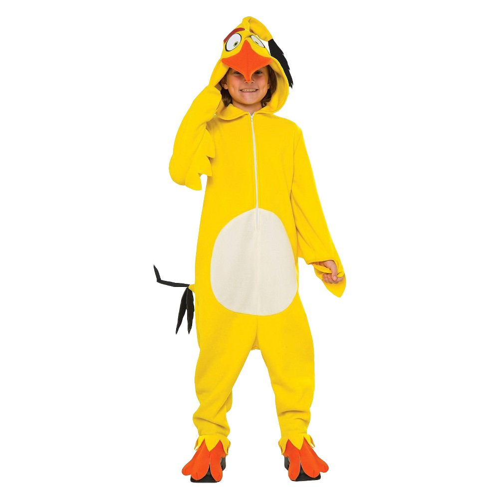 Kids' Angry Birds Movie Chuck Costume - Large, Boy's, Multicolored