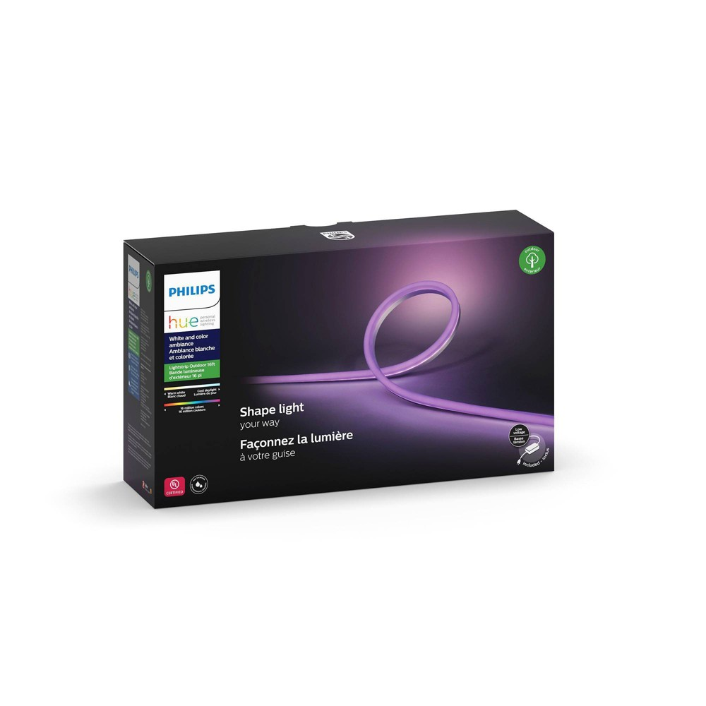 Philips Hue 5m White & Color Ambiance Outdoor Led Light Strip